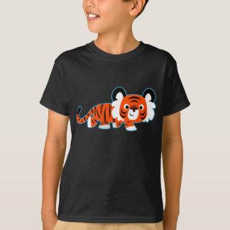 Cute Cartoon Tiger on The Prowl Children T-Shirt