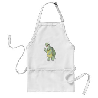 Cute Cartoon Tortoise Shirts Standard Apron