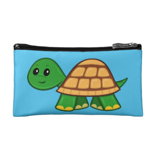 Cute Cartoon Turtle Cosmetic Bag