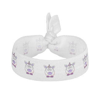 Cute Cartoon Unicorn Hair Tie