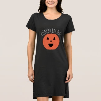 Cute Carved Pumpkin Day Dress