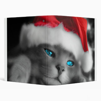 Cute cat binder