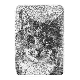 Cute Cat C64 Style Hand-Drawn Pixel Art iPad Mini Cover