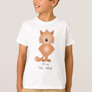 Cute Cat Cartoon T-Shirt