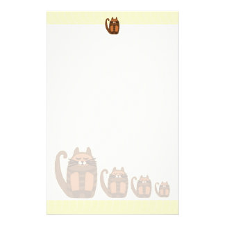 cute cat cats stationery