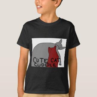Cute Cat Cuddle T-Shirt