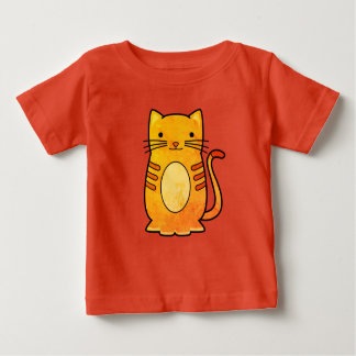 Cute Cat Design Baby T-Shirt