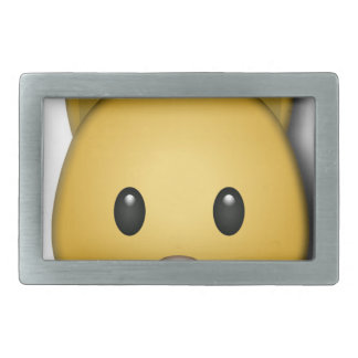 Cute Cat Emoj Style Design Belt Buckle