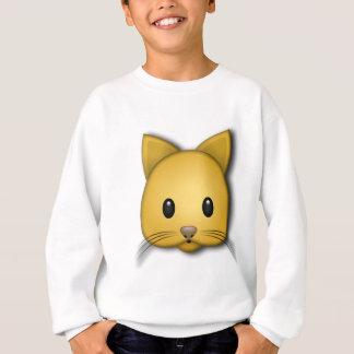 Cute Cat Emoj Style Design Sweatshirt