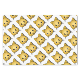 Cute Cat Emoj Style Design Tissue Paper