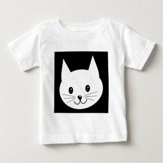 Cute Cat Face. Baby T-Shirt