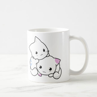 Cute cat friends coffee mug