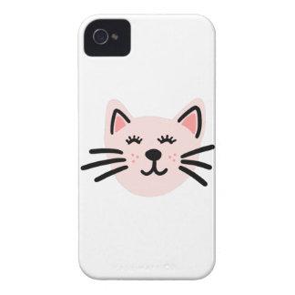 Cute cat illustration Case-Mate iPhone 4 case
