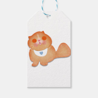 Cute cat illustration gift by Gemma Orte Designs Gift Tags