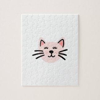 Cute cat illustration jigsaw puzzle