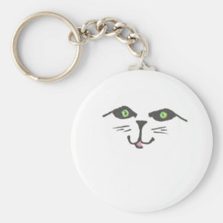 """Cute Cat"" Keychain"