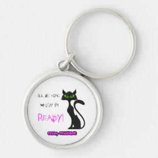 Cute Cat Keyring (keychain)