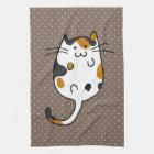 Cute Cat Kitchen Towel