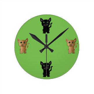 Cute Cat Lover Clock