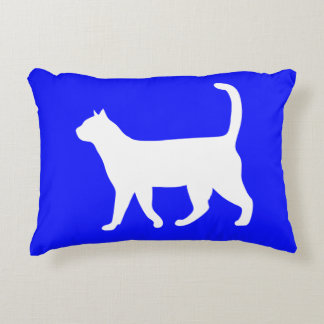 Cute cat lover decorative pillow