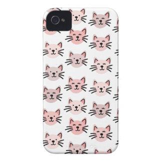 Cute cat pattern Case-Mate iPhone 4 case