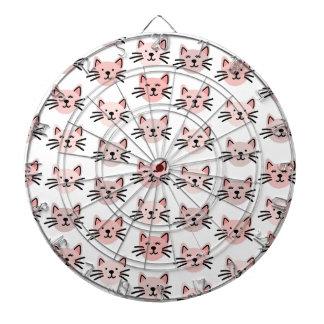 Cute cat pattern dartboard