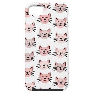 Cute cat pattern iPhone 5 case