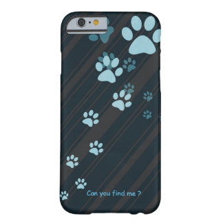 Cute cat paw prints design case