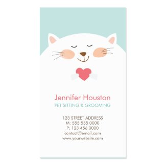 Veterinarian Pet Care Business Cards The Graphic Market The