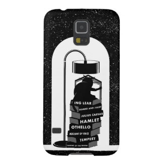Cute Cat Reading Shakespeare Plays Cases For Galaxy S5