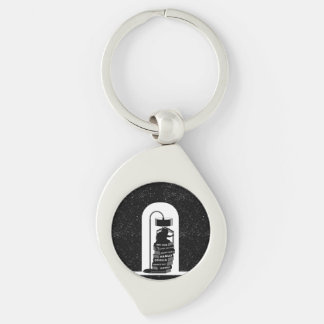 Cute Cat Reading Shakespeare Plays Keychain