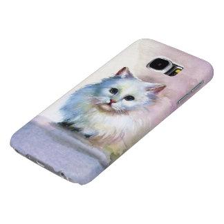 Cute Cat Samsung Galaxy S6 Cases