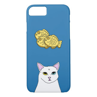 Cute Cat Taiyaki cartoon iPhone Case