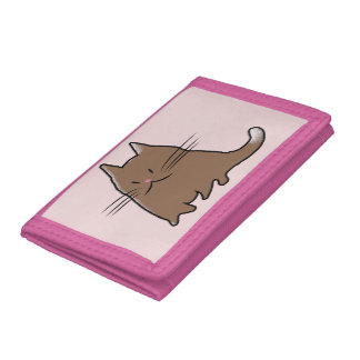 Cute Cat Trifold Wallets