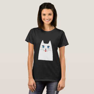 Cute cat with tongue sticking out T-Shirt