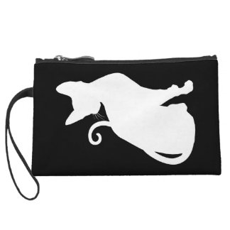 Cute Cat Wristlet Purses