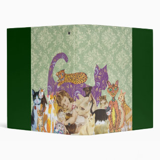 Cute Cats Collage 3 by Kewzoo Binders