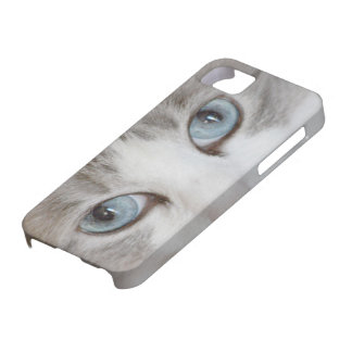Cute Cat's Eyes iPhone 5 Cases
