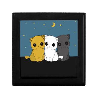 Cute cats gift box