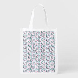 Cute Cats II Reusable Grocery Bag