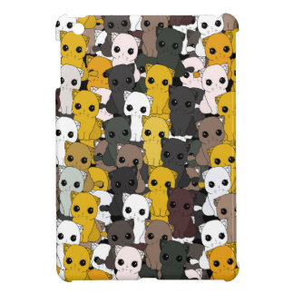 Cute cats pattern cover for the iPad mini