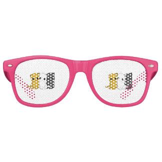 Cute cats retro sunglasses