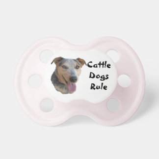 Cute Cattle Dog Baby Pacifier