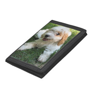 Cute Fuzzy Puppy Dog Wallets   Zazzle ca