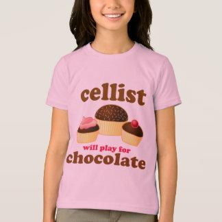 Cute Cello Chocolate T-shirt