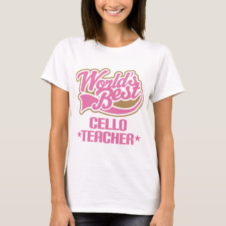 Cute Cello Teacher Gift T-Shirt