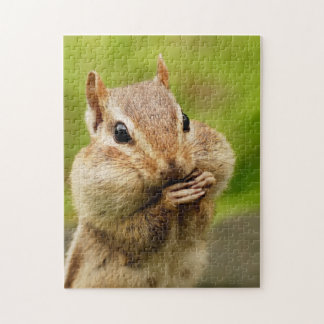 Cute Cheeky Chipmunk Jigsaw Puzzle
