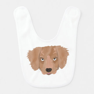 Cute cheeky Puppy Bib