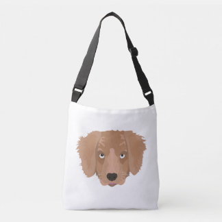 Cute cheeky Puppy Crossbody Bag
