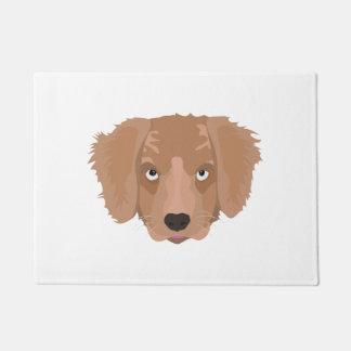 Cute cheeky Puppy Doormat
